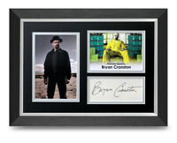 Bryan Cranston Signed A4 Framed Photo Display Breaking Bad Autograph Memorabilia