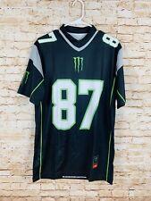 Monster Energy Riddell Gronk Gronkowski Jersey Size Medium M Black