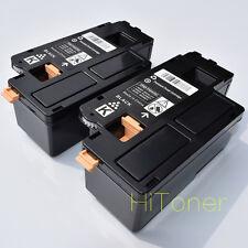 2 x Black Toner Cartridges for Dell C1760 C1760NW C1765 C1765NF C1765NFW