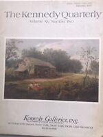 the Kennedy Quarterly Magazine Kennedy Galleries January 1977  092717nonrh