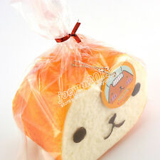 Jumbo Squishy 10cm Licensed Kapibarasan Toast Phone Straps Slow Rising Bread Toy
