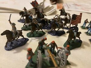 airfix acw Painted Figures Ho/Oo Scale plus extras