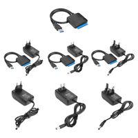 USB 3.0 A SATA Convertitore Cavo Per 2.5/8.9cm SSD HDD Disco Rigido Adattatore