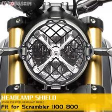 Headlight Guard Grill Protector Cover for All Ducati Scrambler 1100 Scrambler800