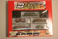 Micro-Trains Z Scale SPECIAL EDITION WEATHERED train Set - SEALED MINT