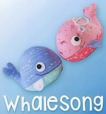 WHALE SONG- Sewing Craft PATTERN - Soft Toy Felt Doll Bear Rabbit Bird