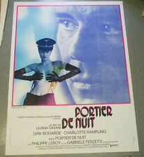 Affiche de cinéma : PORTIER DE NUIT de Liliana CAVANI