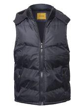 FashionOutfit Men's Casual Detachable Hoodie Zipper Closure Puffer Vest Jacket
