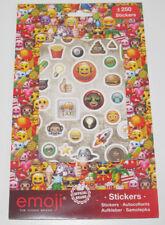 Set Carnet x250 Stickers Autocollants Emoji NEUF