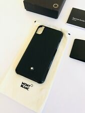MONTBLANC *Meisterstück* iPhone X / XS Hülle Hard Phone Case Black -1930