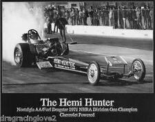 """Hemi Hunter"" Chevy Powered Nostalgia Top Fuel Dragster ORIGINAL HANDOUT!"