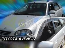 Toyota Avensis Estate 5-portes 1997-2003 4-pc Vent Déflecteurs HEKO tinted