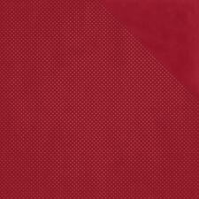 BoBunny 12x12 Papel Scrapbooking Colección de punto doble punto de Arándano x 2 Hojas