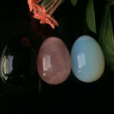 1PC Natural Obsidian/Opal Quartz Crystal Egg Ball Magic Healing Sphere Gemstone