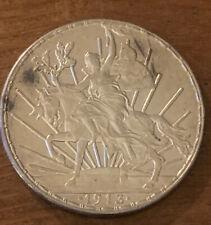 1913 Mexico Cabrillo Silver Un Peso Unc++ M810