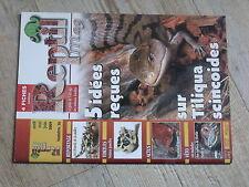 $$ Revue Reptil mag N°36 Tiliqua scincoides  lezards Mallee  tortues jumelles