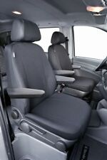 1 Doppelbankbezug ab 06//14 Kunstleder Transporter Sitzbezüge Mercedes Vito 447
