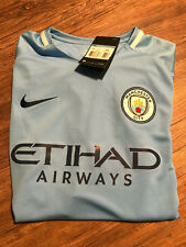 Manchester City Fussball Trikot | Neu | Nike | Blau | Größe L