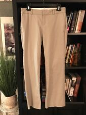 Banana Republic Martin Fit Tan Casual Dress Pants Career Size 6 NWOT #E8