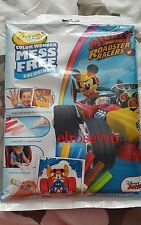 CRAYOLA COLOR WONDER MICKEY AND THE ROADSTER RACERS~INCLUDES 18PGS&5 MARKERS~NIP