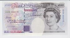 BANK OF ENGLAND FARADAY £20 TWENTY POUNDS BANKNOTE SIGNED KENTFIELD SUPERB
