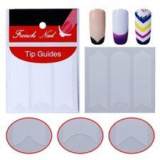 French Nail Fingernägel Sticker Klebe Nagelsticker Maniküre Aufkleber Schablone
