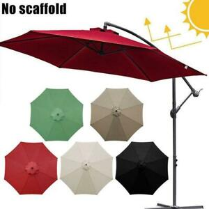3m Replacement Fabric Garden Parasol Canopy COVER For 8Arm Umbrella Sunshade N N