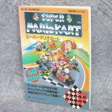 SUPER MARIO KART Guide Book Super Famicom FT32*