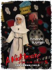 Sale! Amanda Krueger Custom Horror Doll Nightmare on Elm Street 5 Ooak