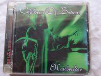 "CHILDREN OF BODOM-"" HATEBREEDER"" CD 2008 SUPER JEWEL CASE"