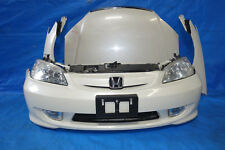 JDM Honda Civic Bumper Headlights Fog Lights Fenders Hood Rebar Emblem 2004-2005