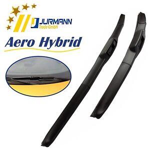 Jurmann Aero Hybrid Premium Qualität Vorne Scheibenwischer Satz 650/400 mm