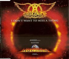 AEROSMITH - I DON T WANT TO MISS A THING -  MAXI CD  ( SOUNDTRACK ) ARMAGEDDON