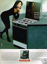Publicité advertising 1991 Electroménager Four Rosières