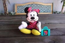 Minnie Mouse Bean Bag Plush Doll Applause Mickey Unlimited Vintage