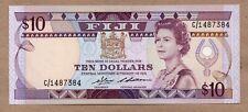 FIJI - 10 DOLLARS - ND1986 - P84a - AU/UNCIRCULATED