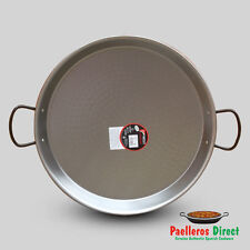 50cm Authentic Spanish Polished Steel Paella Pan
