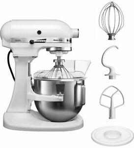 Premium KitchenAid 5KPM5EWH Heavy Duty, Weiß, Küchenmaschine NEU, 2 J. Garantie