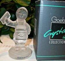 New ListingM. I. Hummel Goebel Figurine Crystal Collection Postman Eilbote #8513