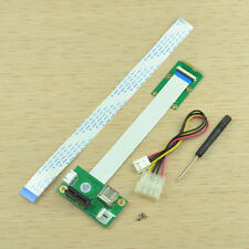 Mini PCI-E to PCI-E 1X Express Riser Extender Adapter Card with FPC Cable