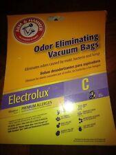NEW Arm & Hammer Electrolux C Premium Allergen Vacuum Bags(2)