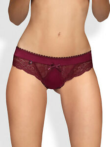 OBSESSIVE Miamor Luxury Super Soft Decorative Brief