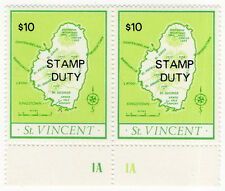 (I.B) St Vincent Revenue : Stamp Duty $10