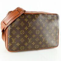 LOUIS VUITTON SAC BANDOULIERE 30 Crossbody Shoulder Bag Purse Monogram M51364
