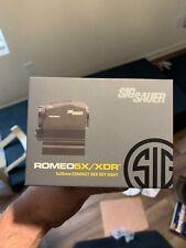 Sig Sauer Romeo5 XDR Compact Red Dot Sight 1x20mm 2 MOA SOR52102