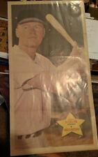 VINTAGE BASEBALL 1968 TOPPS TEST ISSUE RUSTY STAUB POSTER SHRINK WRAPPED RARE