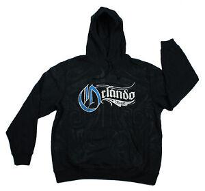 Adidas Orlando Magic NBA Men's All Over Print Hoodie Hooded Sweatshirt