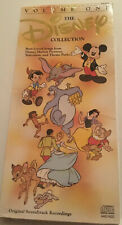 The Disney Collection Volume One Disney Audio CD 24 Tracks Best Loved Songs NEW