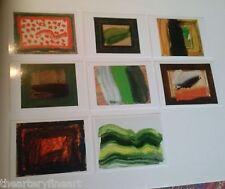 HOWARD HODGKIN: Time and Place 2001-2010 Set of 8 Postcards Modern Art Oxford UK