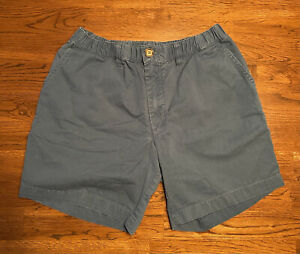 "Rare Chubbies Men's Shorts Size Medium Plain Dark Blue Color 7"" Inseam w/ Pocket"